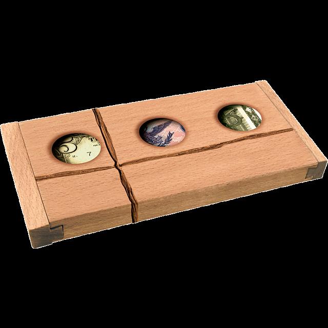 Don T Count On It Raffia Puzzle Boxes Puzzle Master Inc