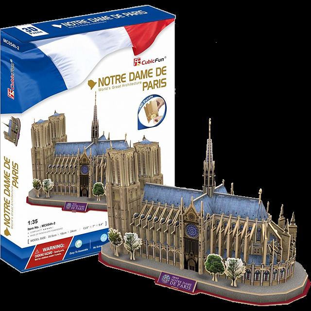 Jigsaw | Puzzle | Notre | Dame | 3D