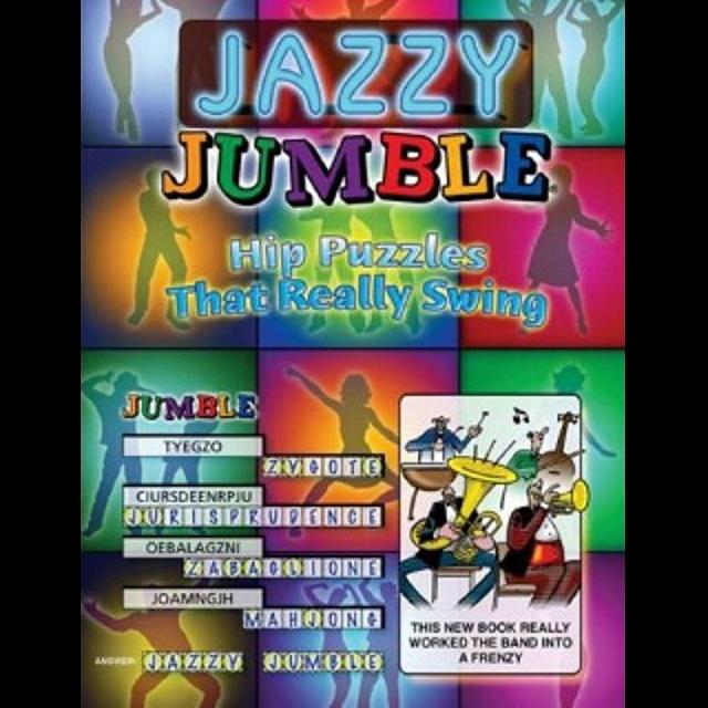 Jazzy Jumble - book