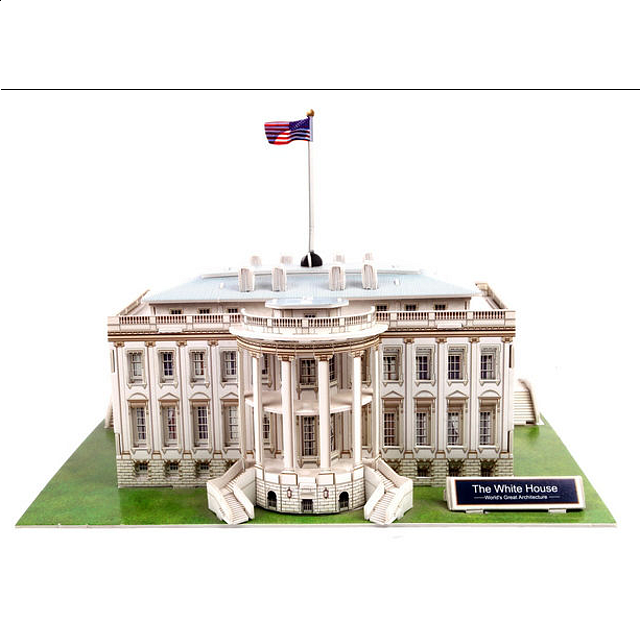 the-white-house-3d-jigsaw-puzzle