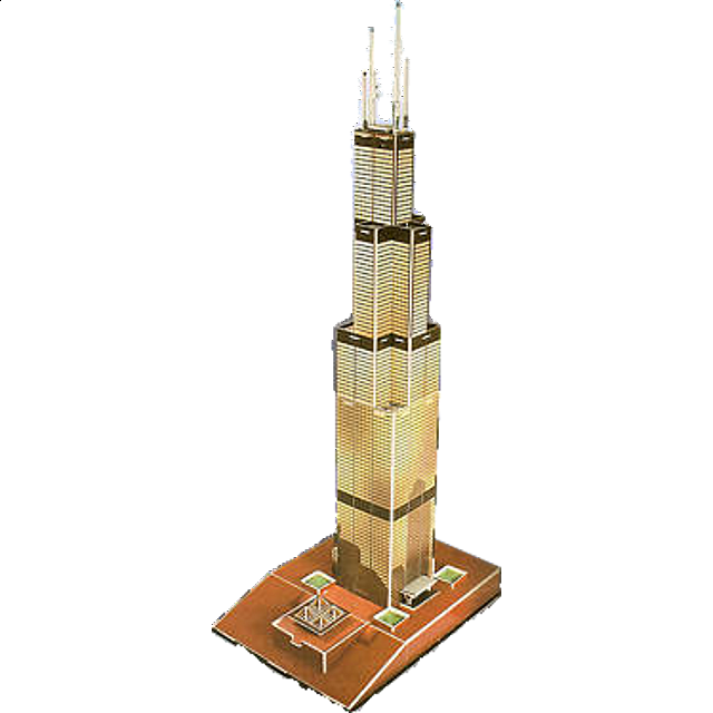 willis-tower-formerly-known-as-sears-tower-3d-jigsaw-puzzle