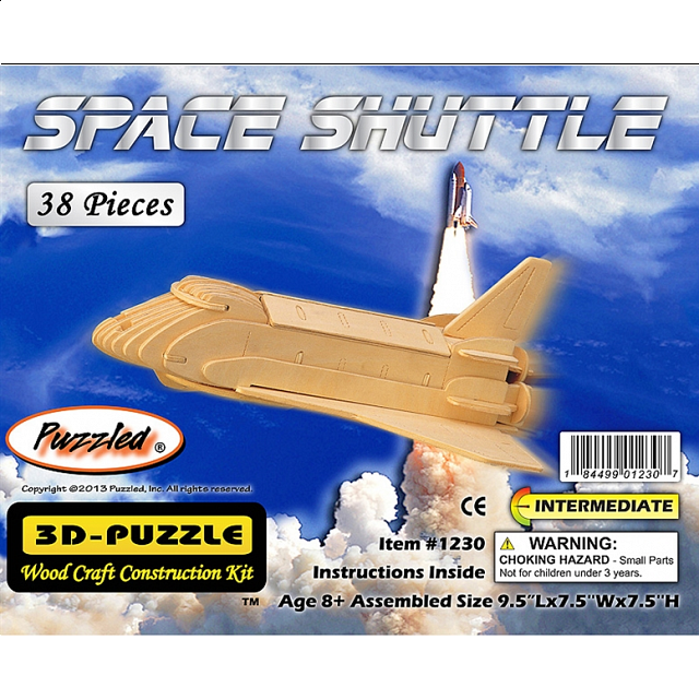 Space Shuttle - 3D Wooden Puzzle | Games & Toys | Puzzle