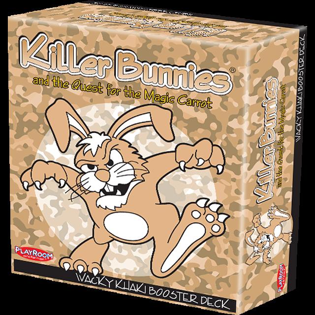 Killer Bunnies Quest - Wacky Khaki Booster Deck