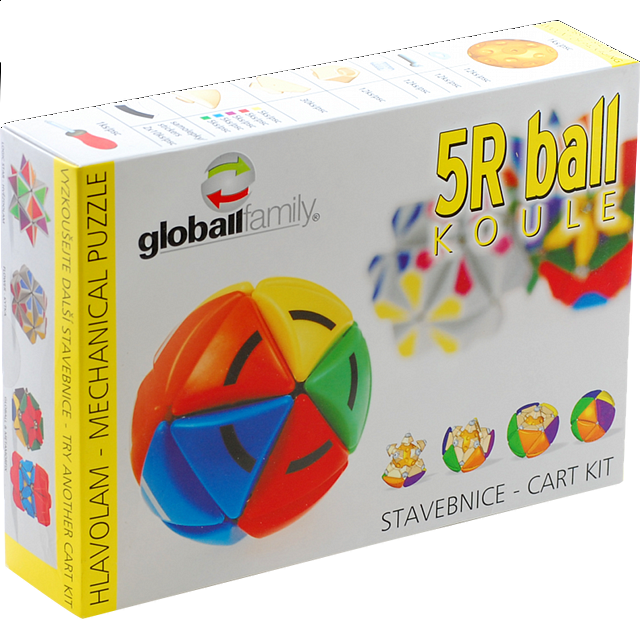 Sphere Ball 5R - Rotational Puzzle - Kit