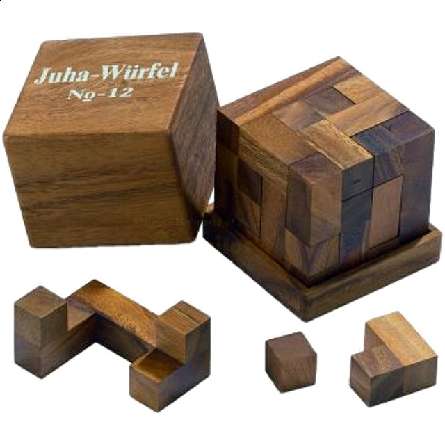 Juha Cube 12 Designers Puzzle Master Inc