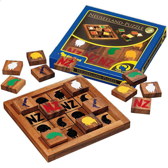 New Zealand Wood Puzzles Puzzle Master Inc