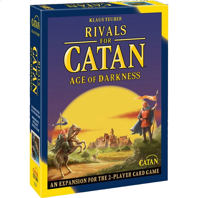 The Rivals for Catan: Age of Darkness - Card Game Expansion