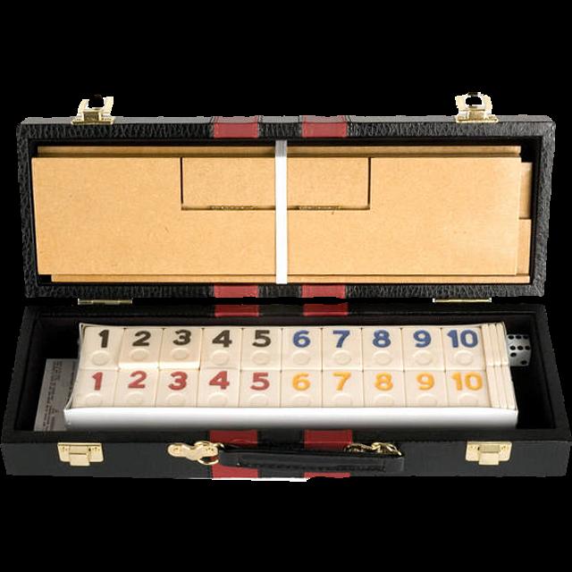 Rummy Game Set of 106 - Attache Case
