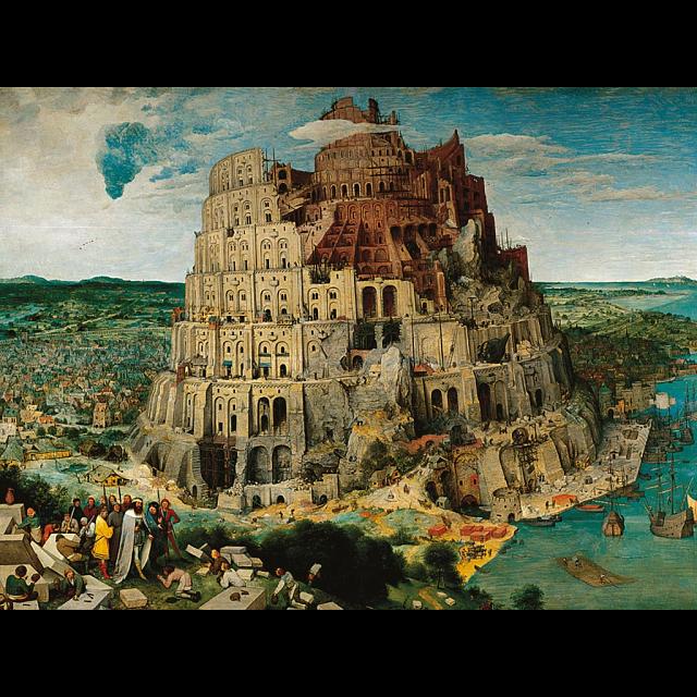 Brueghel the Elder: The Tower of Babel