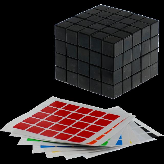 fully-functional-5x5x4-cube-black-body-diy