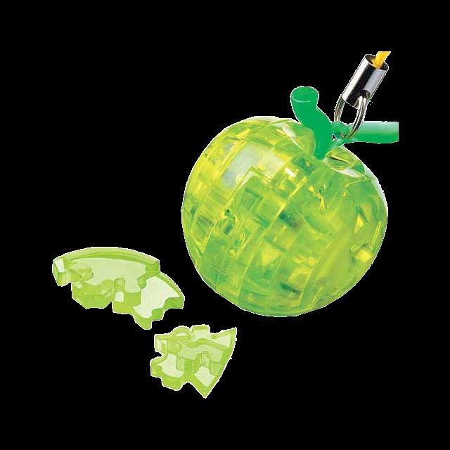 3d-crystal-puzzle-mini-apple-green