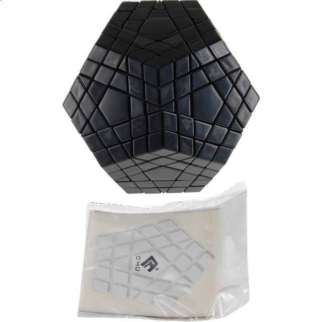 gigaminx-cube4you-diy-black-body
