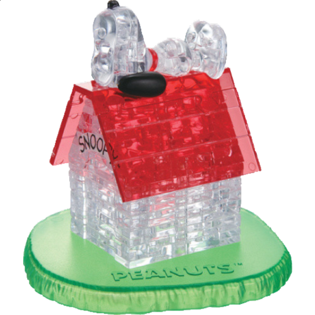 3D Crystal Puzzle - Snoopy House - from $21.99