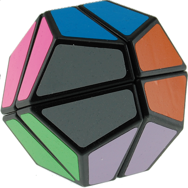 12 Faces Ultimate Like Cube Black Body 2x2x2