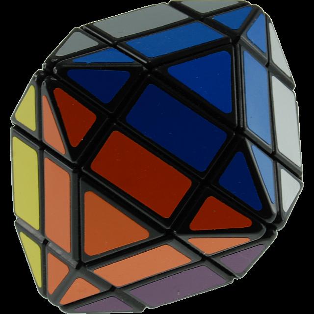 4x4x4 Octahedron Ii - Black Body