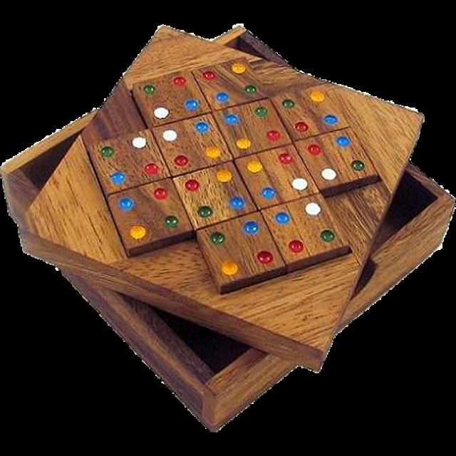 Color Match 12 Pieces Brain Teaser Puzzle