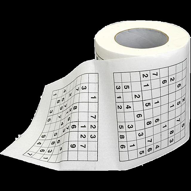 sudoku-toilet-roll