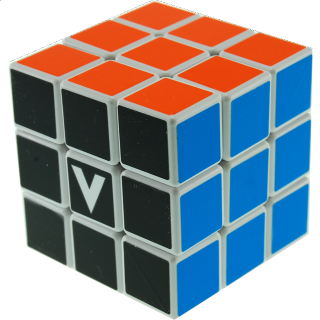 v-cube-3-flat-3x3x3-white