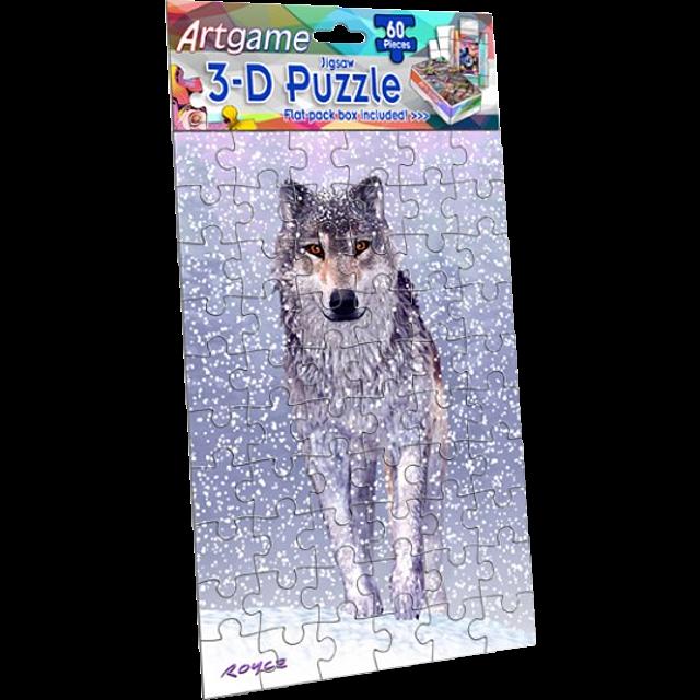 3d-snow-wolf