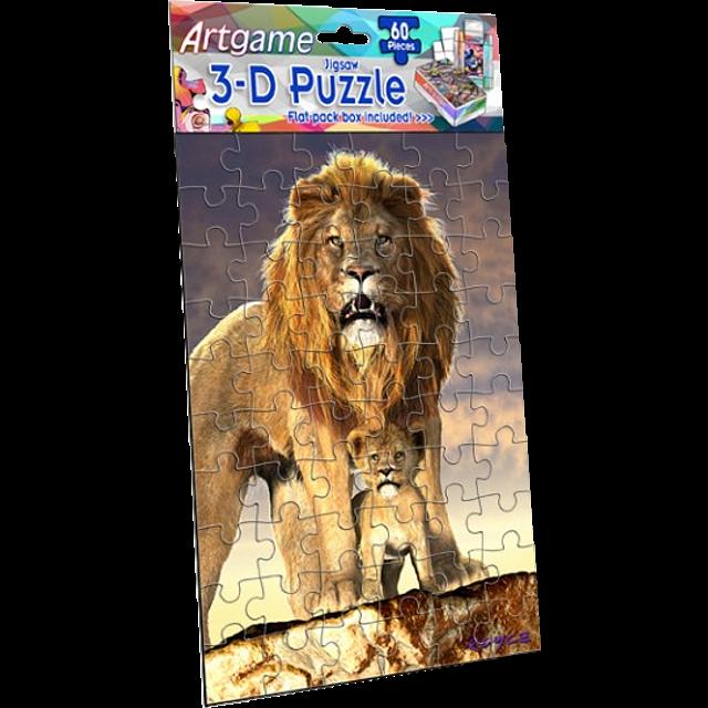 3d-lion