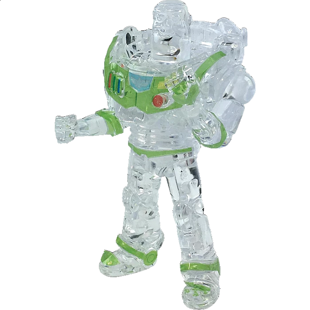 3D Crystal Puzzle - Buzz Lightyear (Clear)