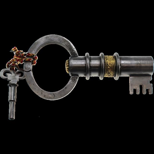 key-shaped-puzzle-lock