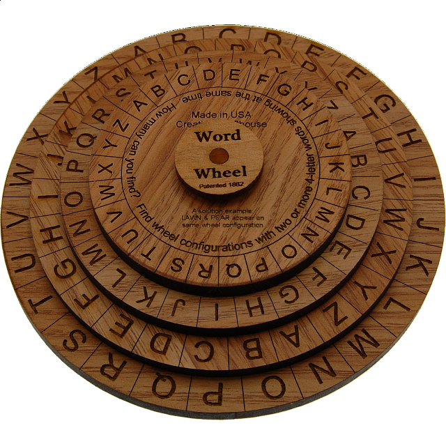 word-wheel