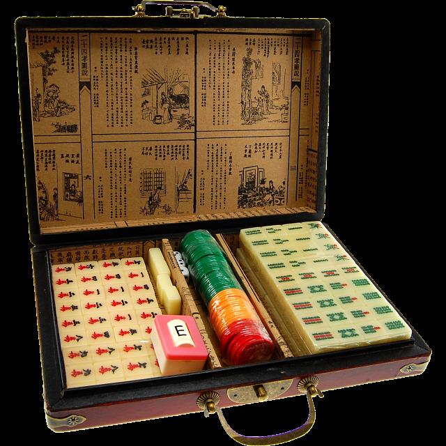 Oriental Antique Mahjong