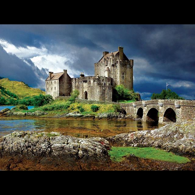 Majestic Castles: Eilean Donan Castle, Scotland