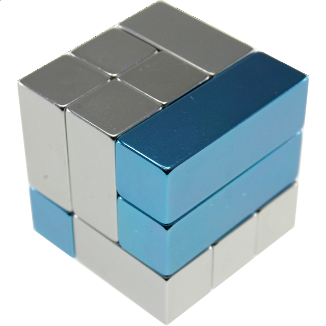 Metal Art: i-Cube - Blue - from $32.99