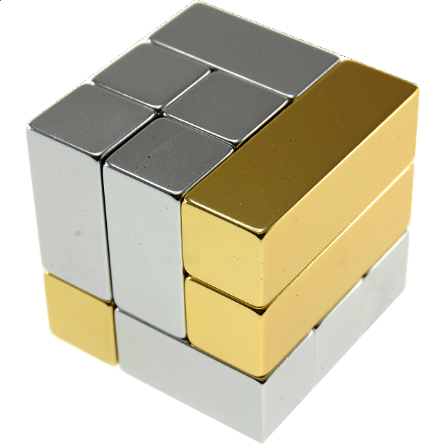 Metal Art: i-Cube - Gold - from $32.99