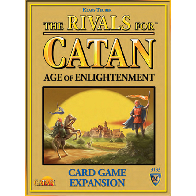 The Rivals for Catan: Age of Enlightenment - Card Game Expansion