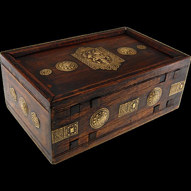 Wooden Puzzle Gift Box Teak Puzzle Boxes Puzzle Master Inc