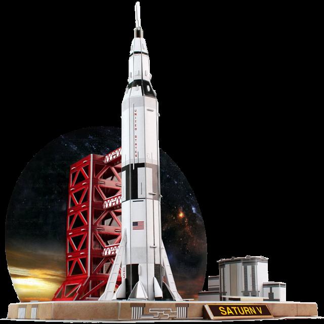 saturn-v-rocket-3d-jigsaw-puzzle