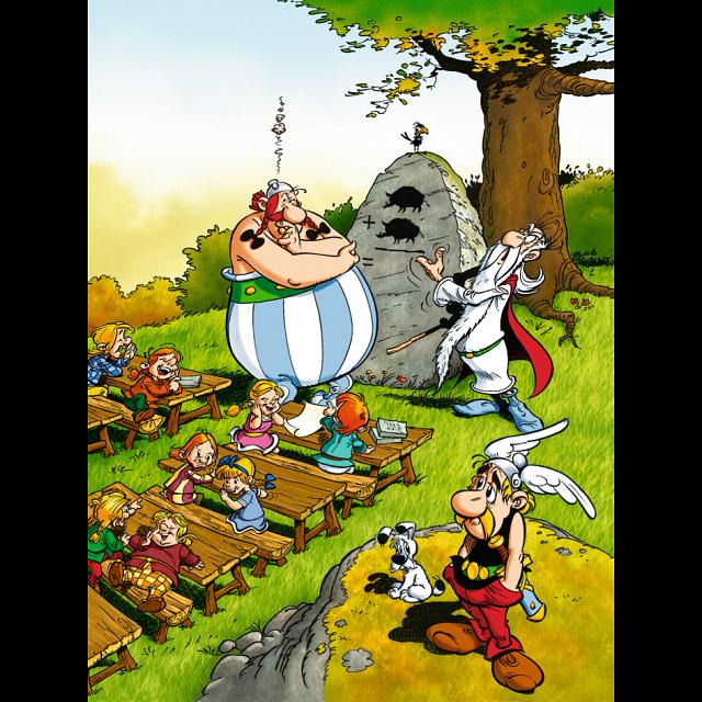 Asterix: Obelix at School