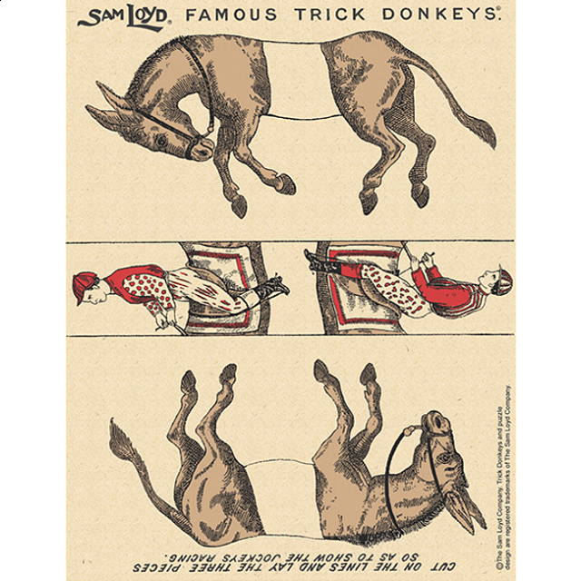 famous-trick-donkeys-color-post-card-english