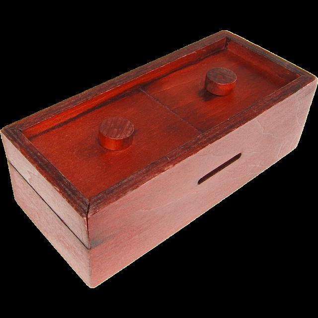 Secret Box 4 Wood Puzzles Puzzle Master Inc