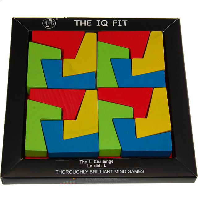 Iq Fit The L Challenge Wood Puzzles Puzzle Master Inc
