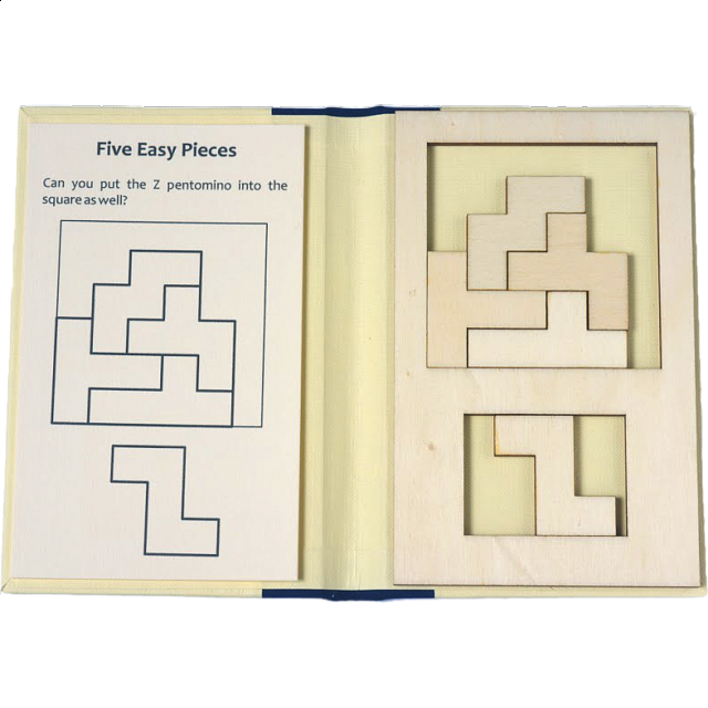 Puzzle Booklet - Five Easy Pieces