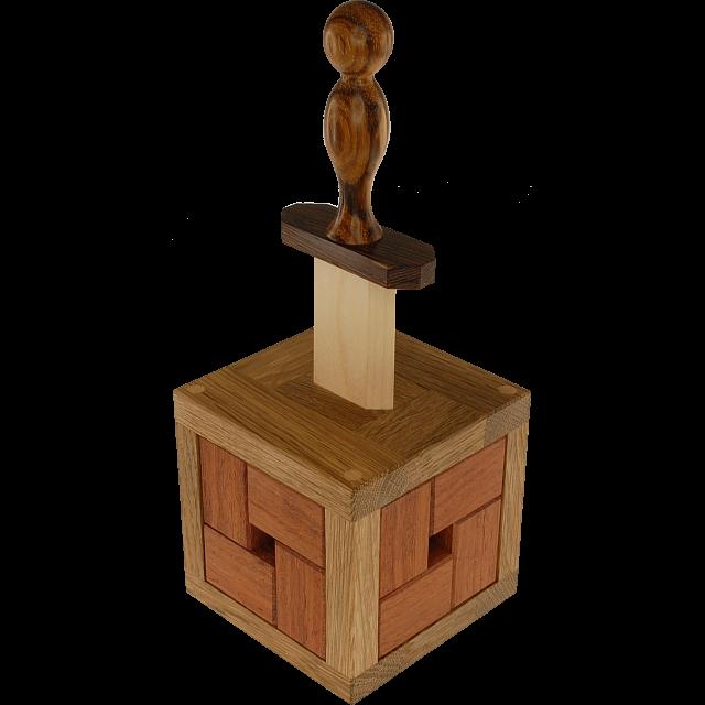 Excaliburr Wood Puzzles Puzzle Master Inc