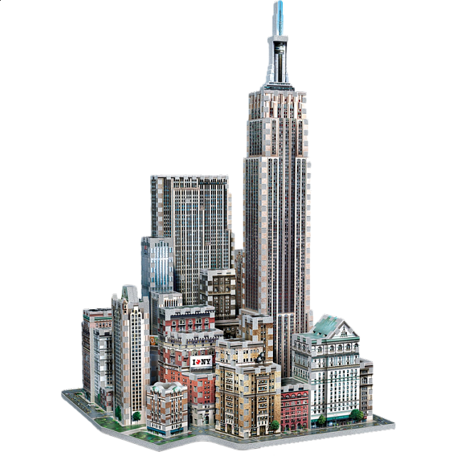 New York Collection: Midtown West - Wrebbit 3D Jigsaw Puzzle