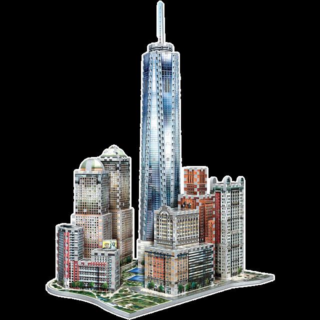 new-york-collection-downtown-world-trade-wrebbit-3d-jigsaw