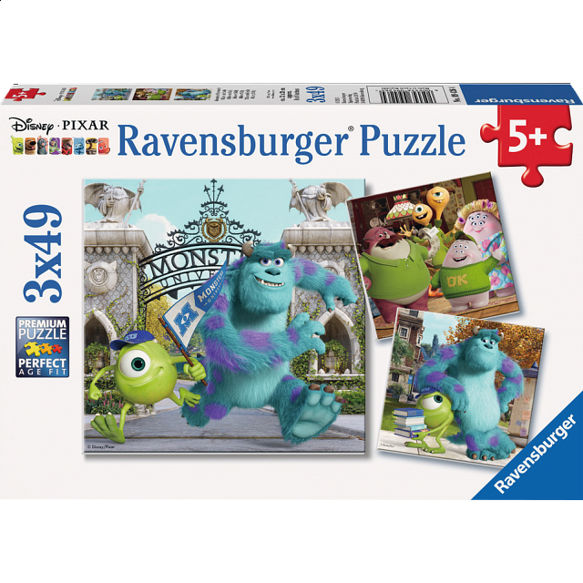 monsters-university-mike-sully-3-x-49-piece-puzzles