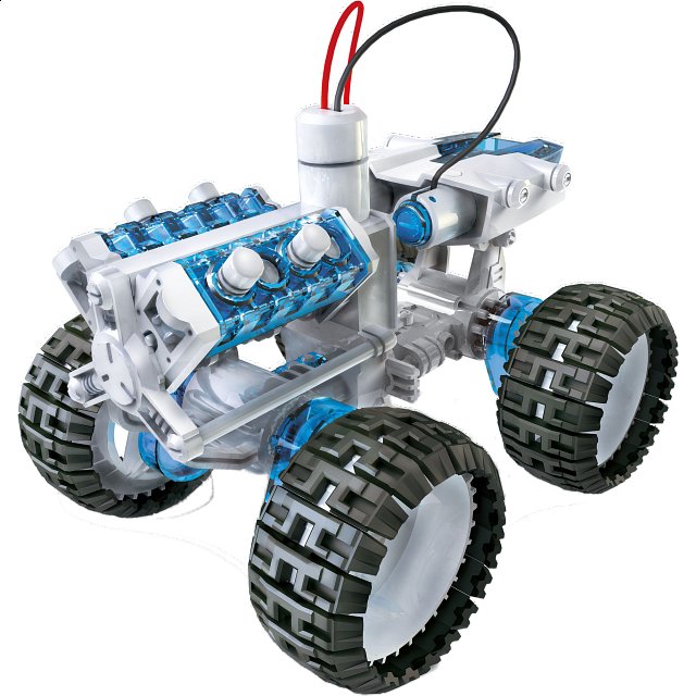 Salt Water Fuel Engine Car - Kit