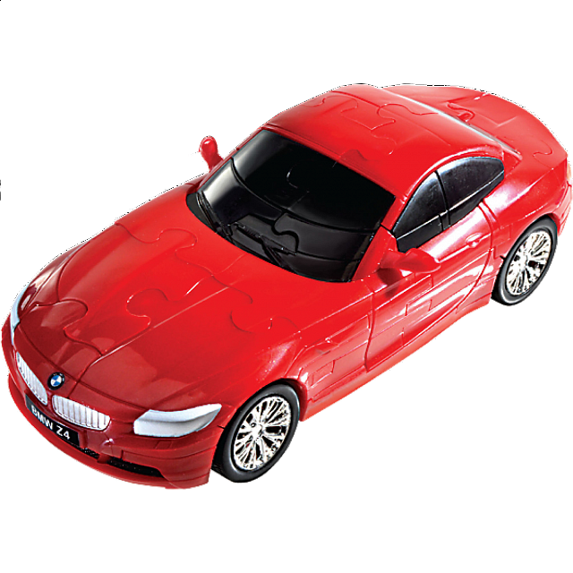 3d Puzzle Cars Bmw Z4 Red More Puzzles Puzzle