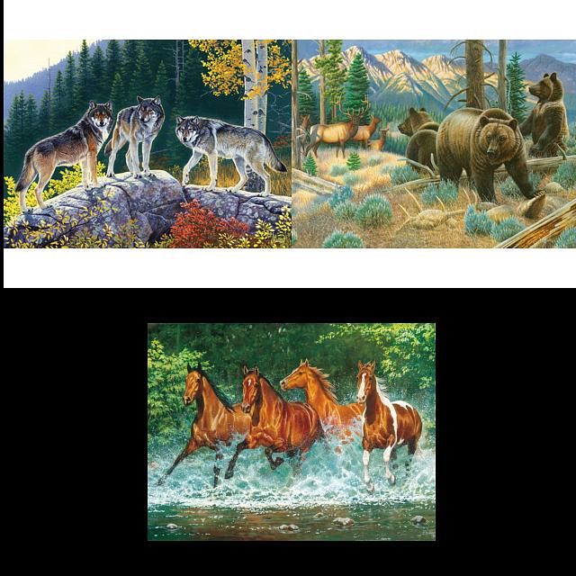 jigsaw-puzzle-set-wildlife