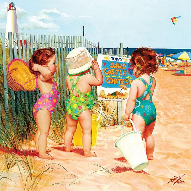 joys-of-childhood-beach-babies