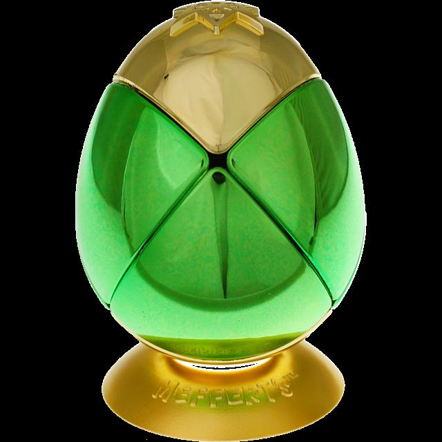 metalised-egg-2x2x2-green-gold