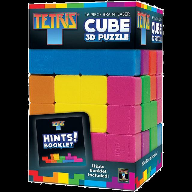 Tetris Brainteaser Cube - 3D Puzzle