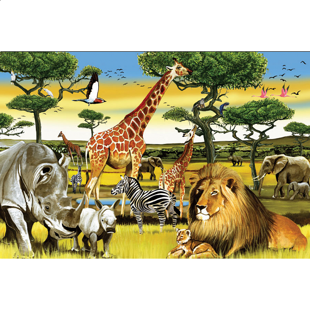 floor-puzzle-african-plains